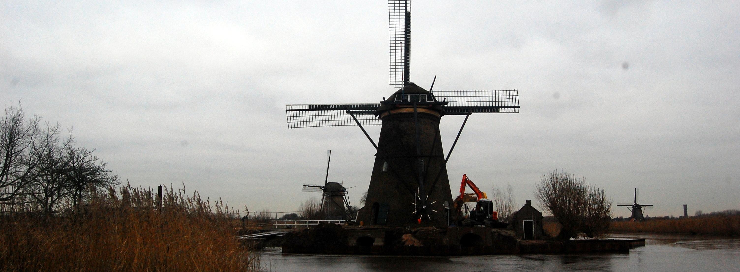 Monumentale es Kinderdijk